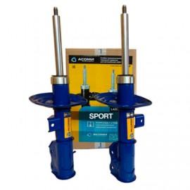 Стойка газонаполненная передней подвески LADA Vesta Sport, серия SPORT (для установки с заниженными пружинами 8450032655) А 180.2905.002/003-С АСОМИ